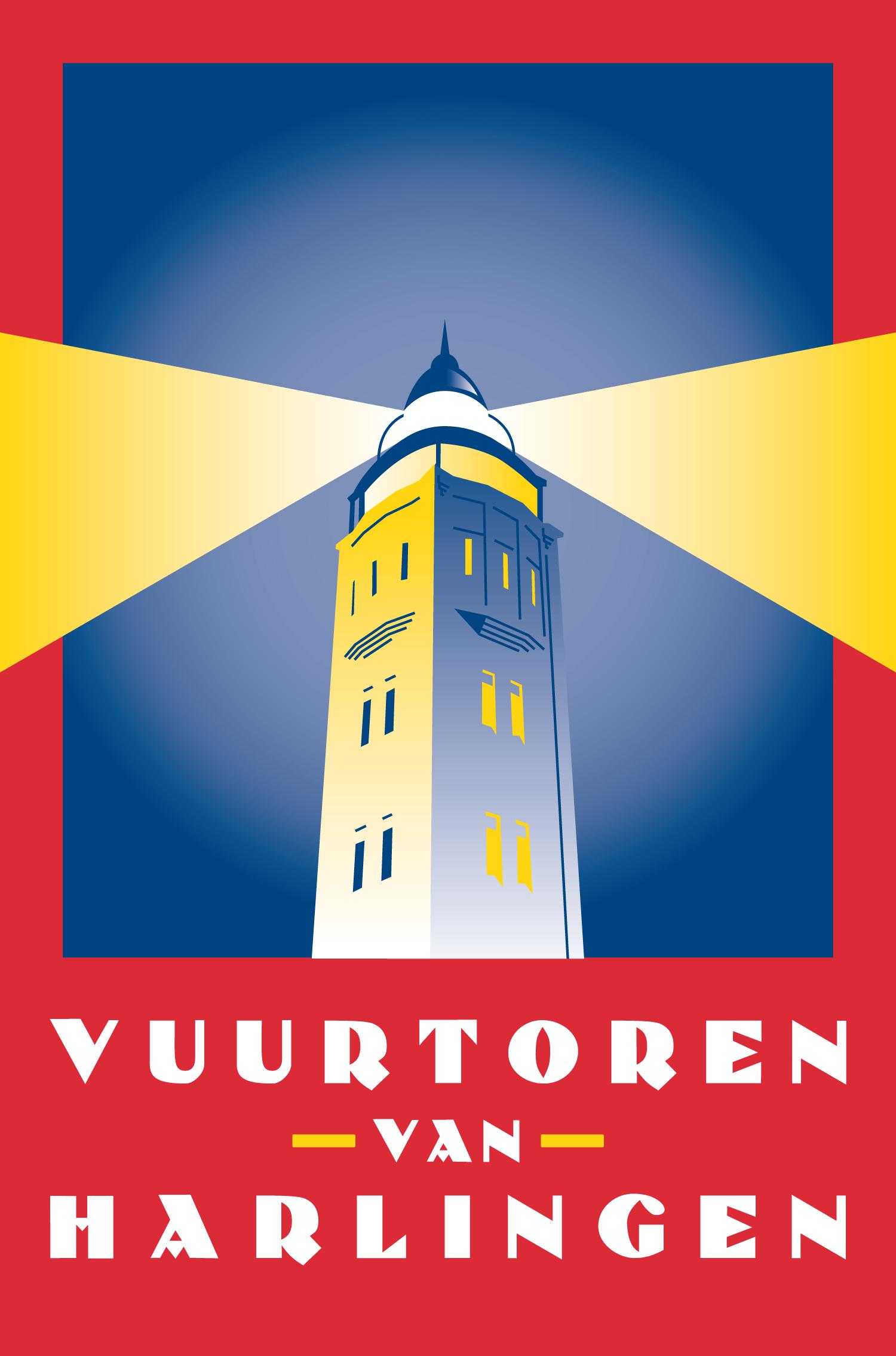 Logo Vuurtoren van Harlingen